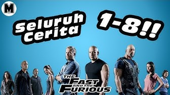 Seluruh Alur Cerita Film The Fast And The Furious | 1 - 8 !!