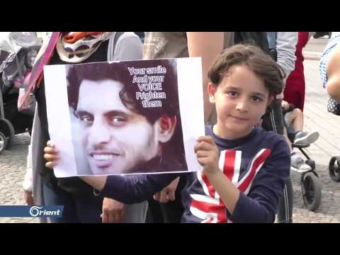 لاجئون سوريون يستذكرون الساروت في مظاهرة بالعاصمة الألمانية برلين - سوريا  - 22:53-2019 / 6 / 11