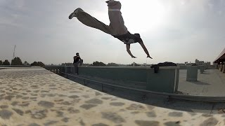 The Best Of Gaza Parkour And Free Running (2015-2016)/Part.1 (HD1080)