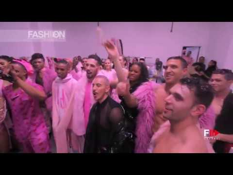 PINK by STEVIE BOI Fall 2018/2019 New York - Fashion Channel