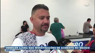 Embraer ajuda nas investigações de acidente no México