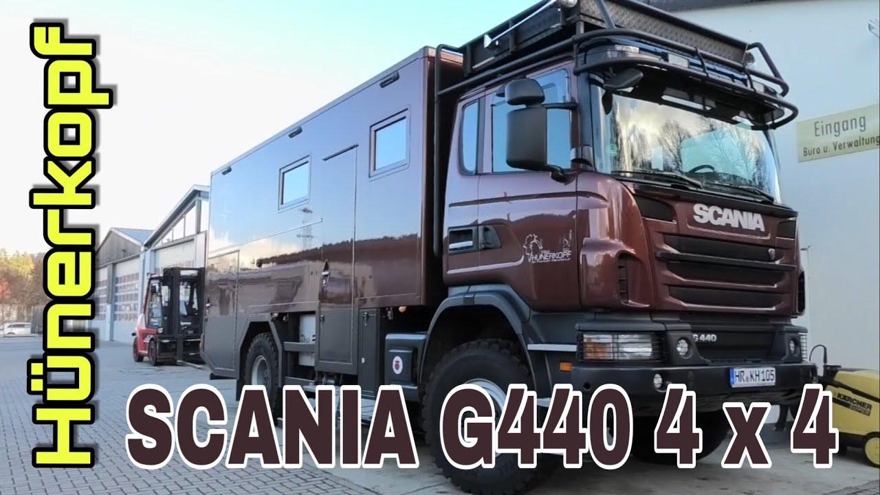 SCANIA G8 8x8 Hünerkopf / womoclick