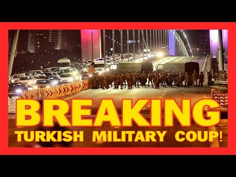 BREAKING: 'We've taken control!' Military claim coup in Turkey as they open fire on citizens