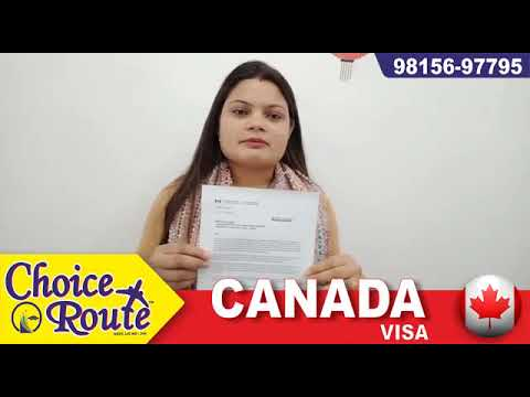 Congratulations to Ms. Meenu Sharma for her Canada Student Visa for St. Clair College.