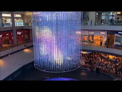 Step Into An Interactive Digital Experience I Digital Light Canvas at Singapore Marina Bay Sands I