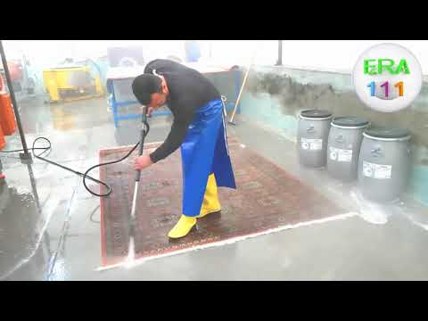 Как стираются ковры? Эффективные техники стирки ковров и применение скребка