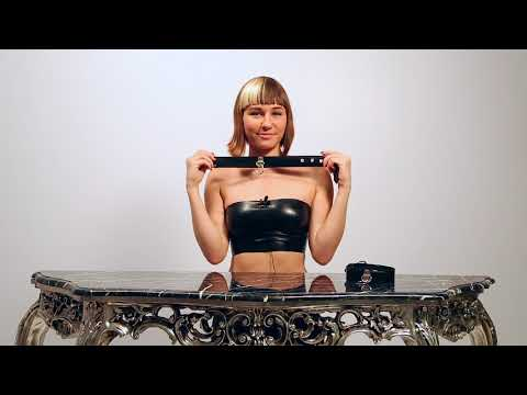 Reed Amber Presents Rubber  Latex Collar thumbnail