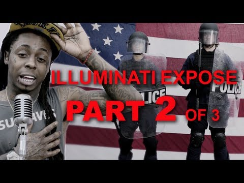 Lil Wayne God Bless Amerika illuminati expose part 2 of 3