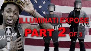 Lil Wayne God Bless Amerika illuminati expose part 2 of 3
