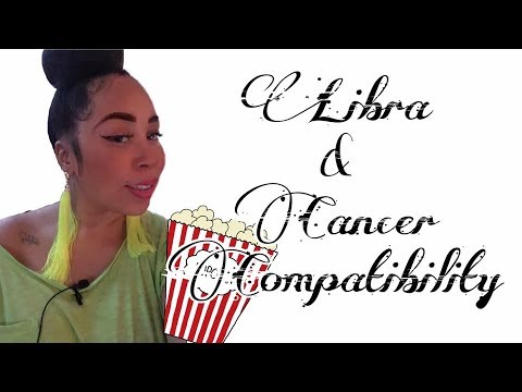 cancer dating libra mand