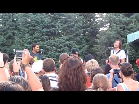 "Jack Johnson, Zach Gill, G Love ""Purple Rain""  Blossom Music Center"