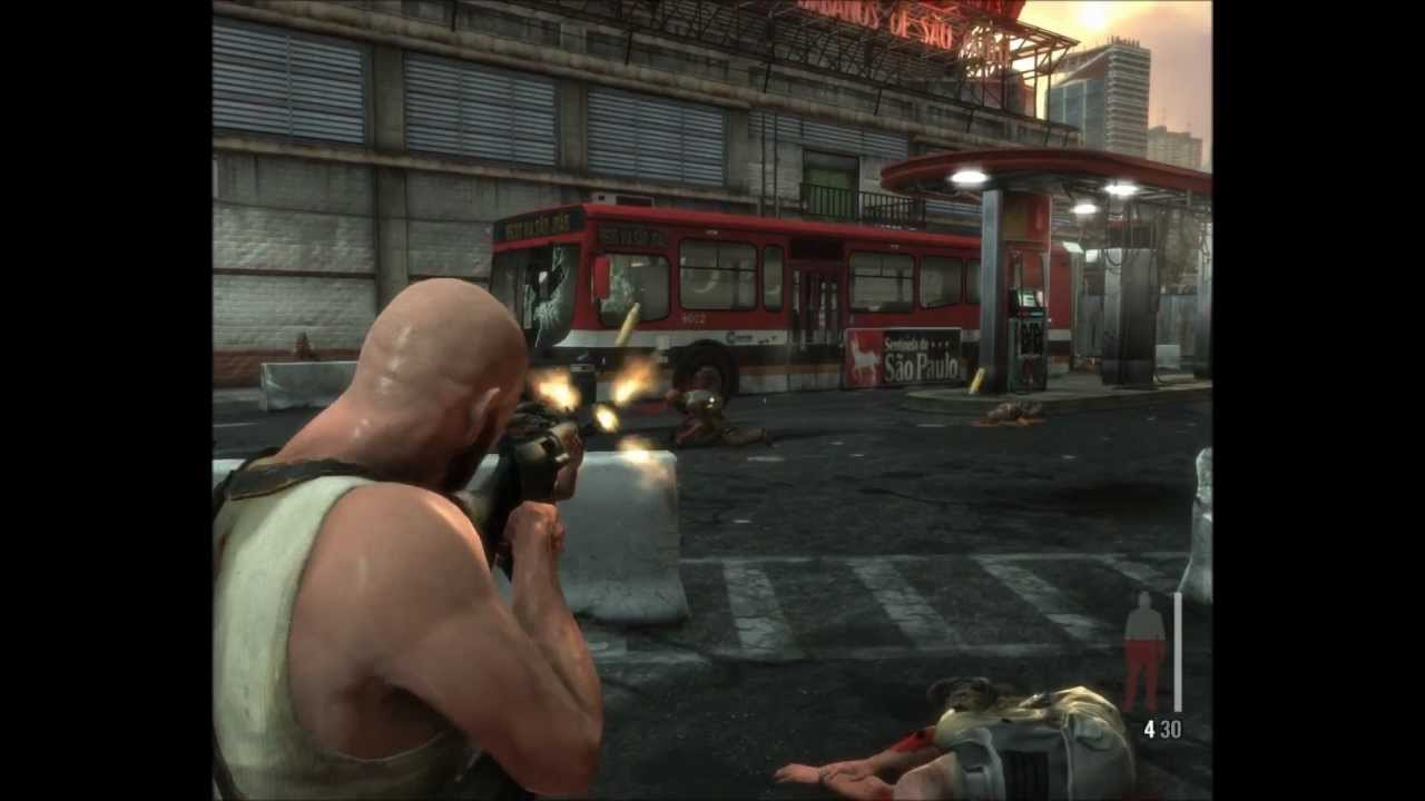Max Payne 3 Gameplay Xbox 360 Ps3 Pc Youtube