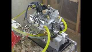 Bakers V4 Engine Running