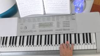 How To Play ~ Bolero ~ Ravel ~ LetterNotePlayer ©