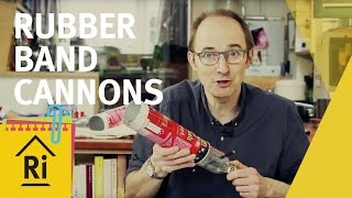 Rubber band cannons - Science with children - ExpeRimental #1