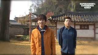 Super Junior's Experience Korea Video FULL (33 vid)