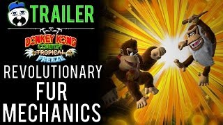 "A MOCK TRAILER for ""Donkey Kong Country: Tropical Freeze"" [TAGS: Gameplay, review, 3ds, dixie, ign]"