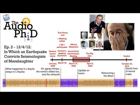 In Which an Earthquake Convicts Seismologists of Manslaughter