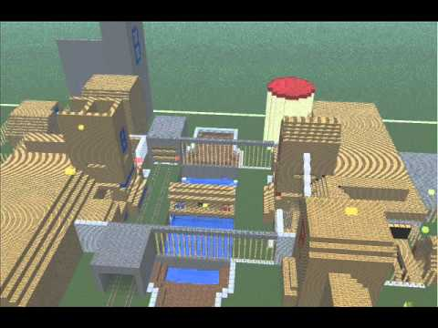how to build 2fort in minecraft