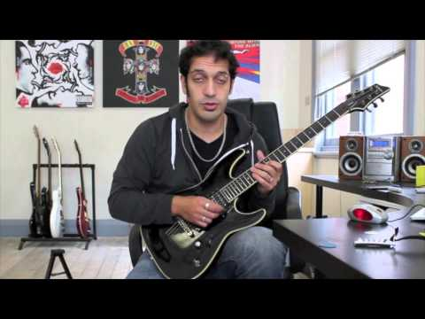 How to play 'The Poison' by Bullet For My Valentine Guitar Solo Lesson