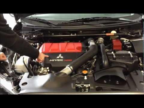 Mitsubishi Evolution 2012 Walkaround Presentation And Demo