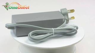 110-240V AC Power Adapter With UK Plug for Nintendo Wii  from Dinodirect.com