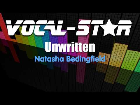 Natasha Bedingfield - Unwritten (Karaoke Version) With Lyrics HD Vocal-Star Karaoke