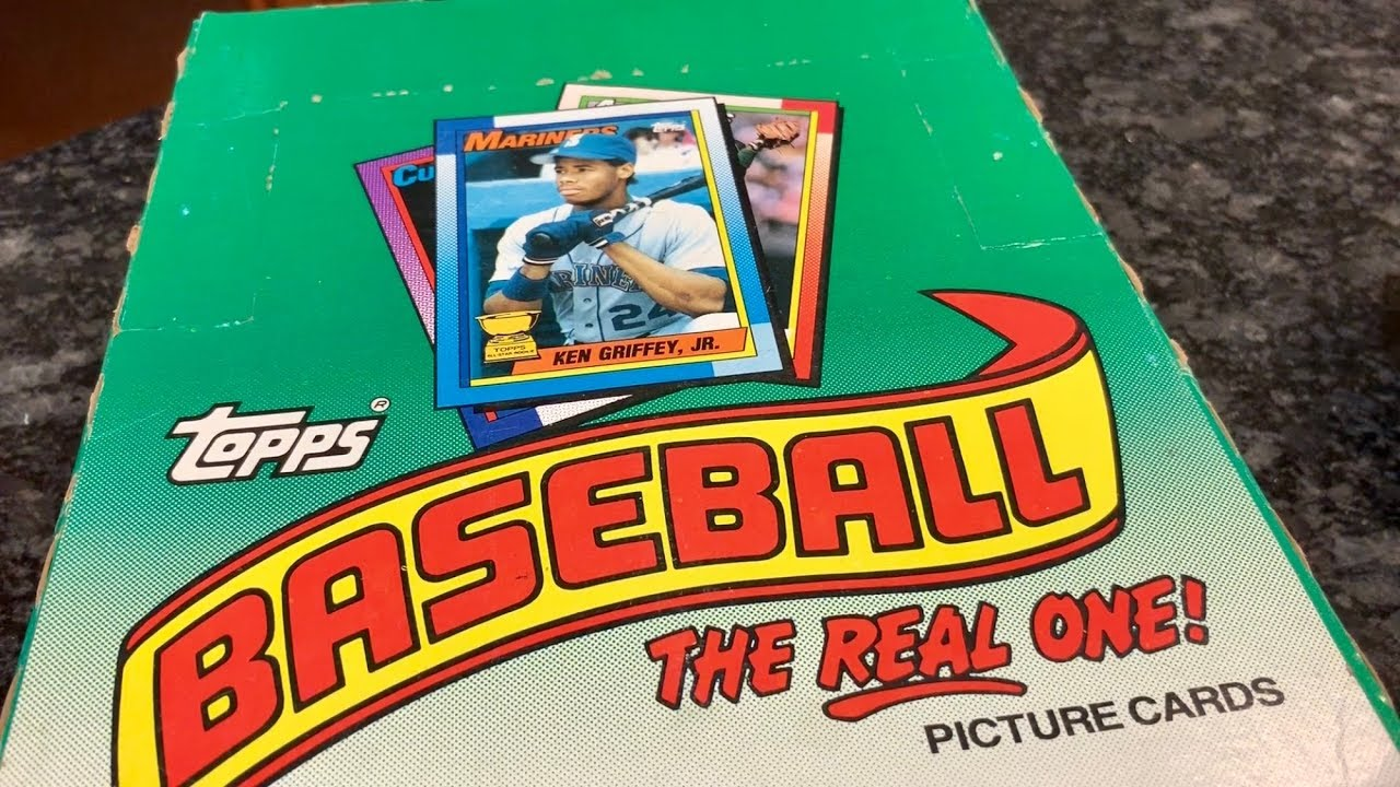 Throwback Thursday 1990 Topps Rack Box Searching For Frank Thomas No Name On Front Rookie Card