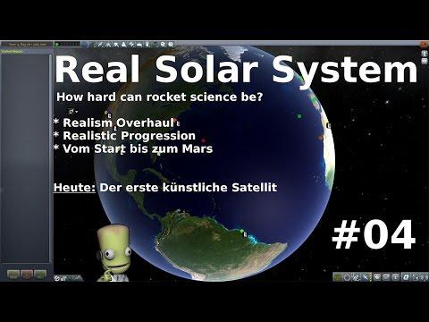 Real Solar System - KSP - Folge #04 - Der erste künstliche Satellit [deutsch/german]