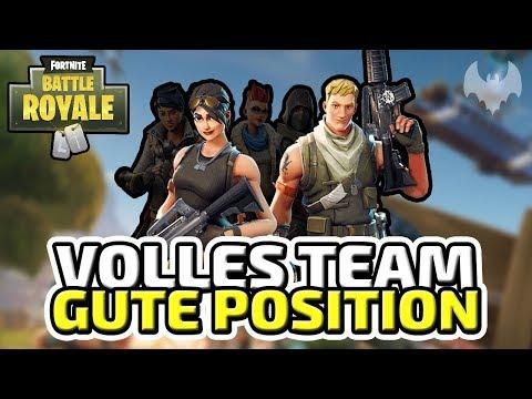Volles Team, gute Position - ♠ Fortnite Battle Royale ♠ - Deutsch German - Dhalucard