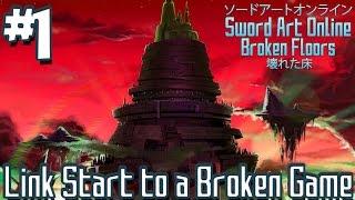 Sword Art Online: Broken Floors (Minecraft Roleplay) - Episode 1 | Link Start into a Broken Game