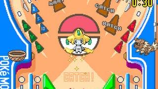 [TAS] GBA Pokemon Pinball: Ruby & Sapphire - Jirachi Capture Speedrun