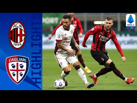AC Milan Cagliari Goals And Highlights