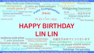 LinLin   Languages Idiomas - Happy Birthday