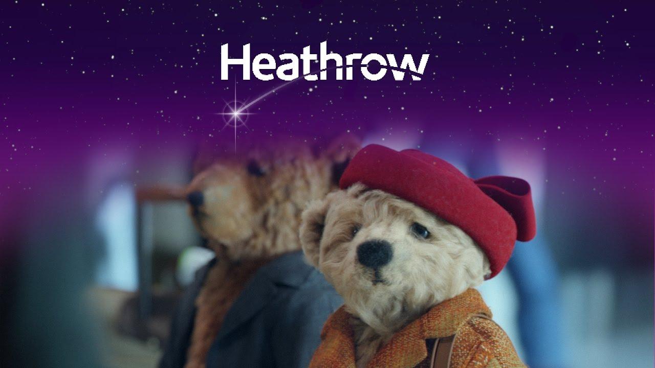 Heathrow օդանավակայանի տարեց փափուկ արջերի մասին գովազդը