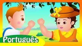 JACK E JILL   Rimas de berçário Colecção   Canções Infantis em Português   ChuChu TV