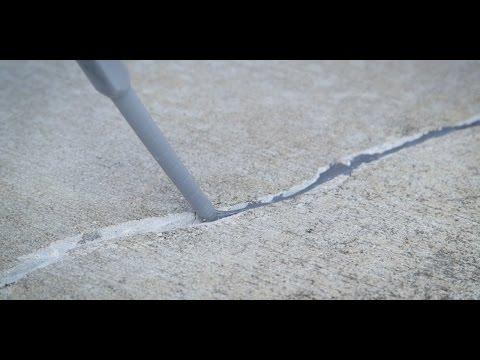 Concrete Surfaces Crack Repair - Sherwin-Williams