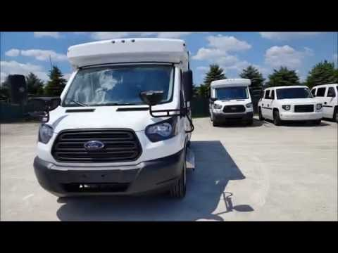 2016 Collins NexBus Ford Transit Bus : SOLD
