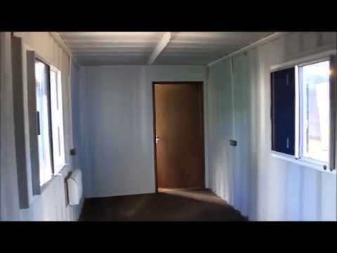 Container conversions bespoke 40ft converted shipping containers london uk youtube - How to convert a shipping container ...