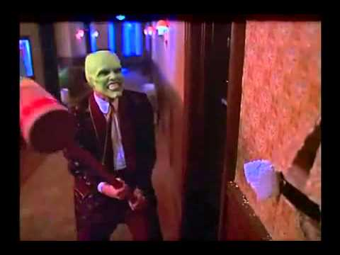 Funny Scene in 'The Mask' 1994 By: Ivica
