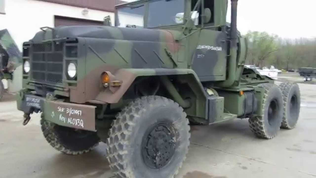 M931A2 Military Tractors for Sale - YouTube
