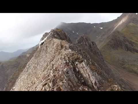 Walking on the edge. Crib Goch, Snowdonia
