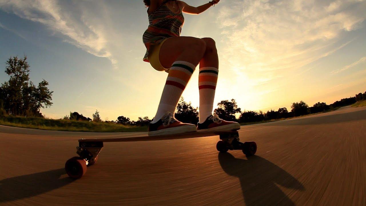 Penny Skateboards Girl Wallpaper Derringer Mini Longboarding Youtube