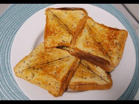 Самые простые и очень вкусные горячие бутерброды в бутерброднице с сыром и грибами