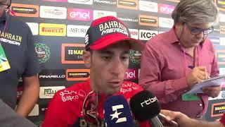 Vincenzo Nibali - intervista post-gara - Il Lombardia 2018