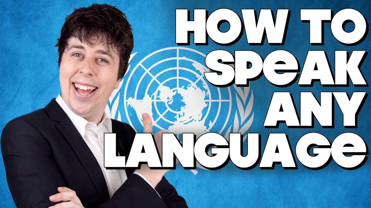 How To Speak Any Language Instantly Youtube
