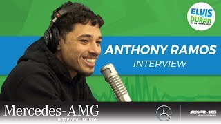 Anthony Ramos Explains The Power Of Showing Vulnerability | Elvis Duran Show