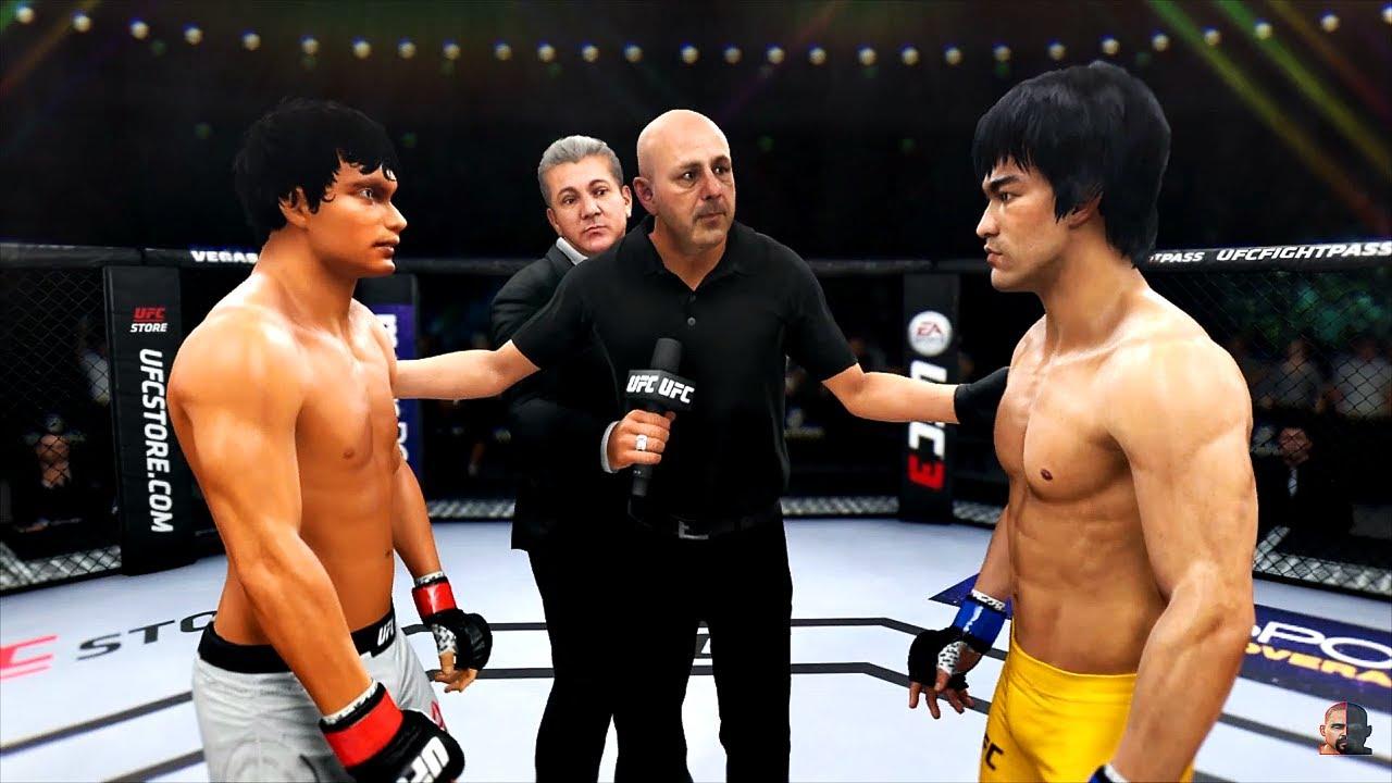Download BRUCE LEE vs TONY JAA | EA Sports UFC 3