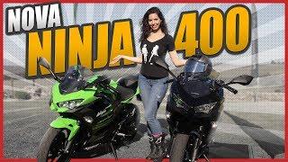 TESTE NINJA 400 - LANÇAMENTO OFICIAL NO BRASIL - Previsão Z400 e Versys 400 | Mulheres de Moto
