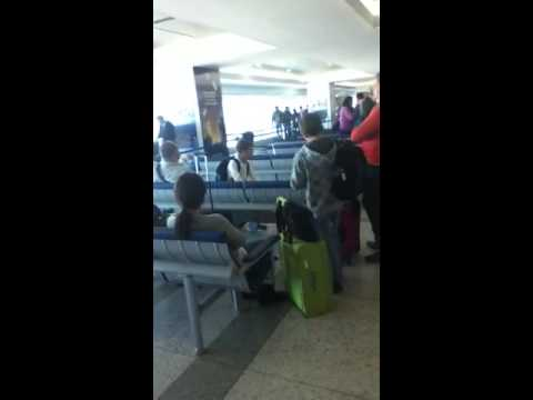 NYC experience at the airport in Venezuela
